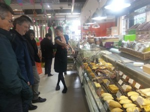 Participants in the EU Coop Campus project visit Manchester co-operative 8th Day